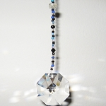 Swarovski Bagua Career Hanging Crystal